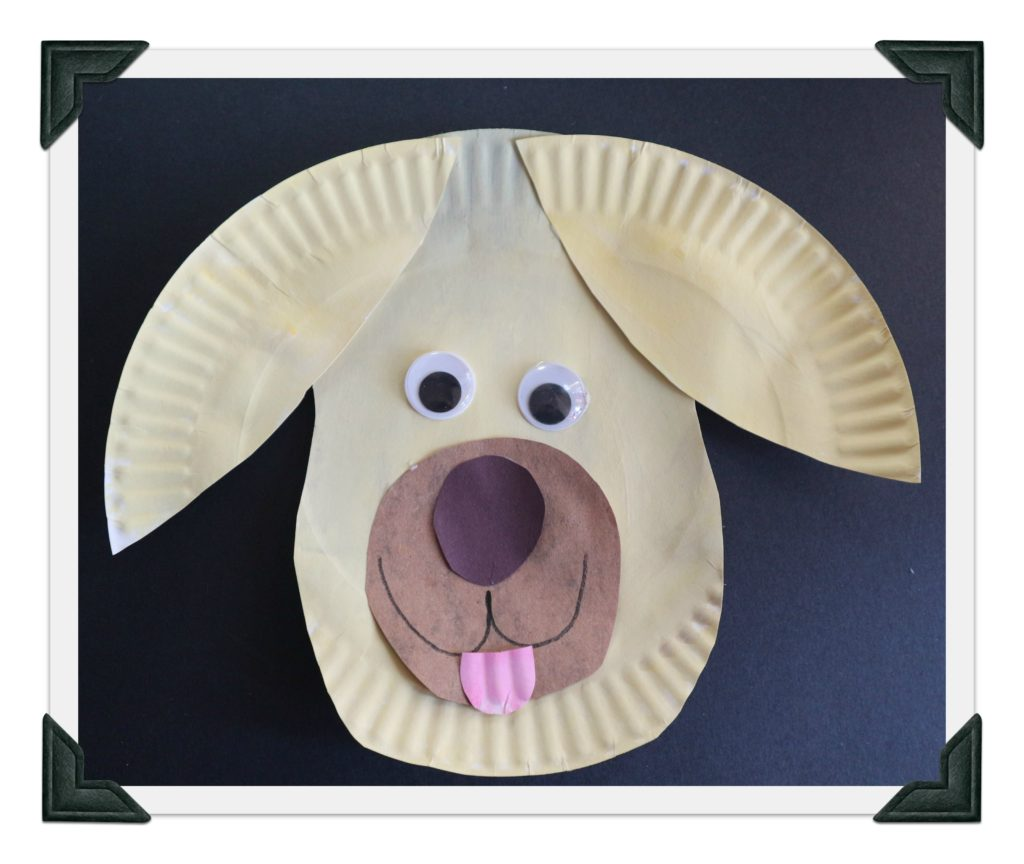 Make animals from paper plates like this sweet dog. mybrightideasblog  sc 1 st  My Bright Ideas & Paper Plate Animals Groundhog Zebra Dog - My Bright Ideas