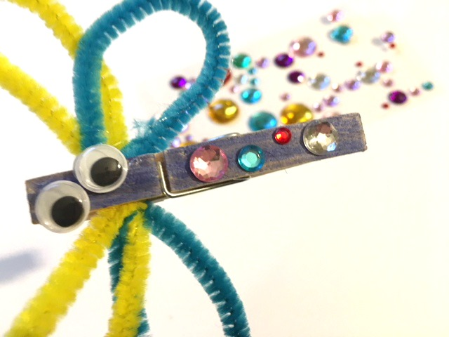 Butterfly Clothespin Bug Craft My Bright Ideas