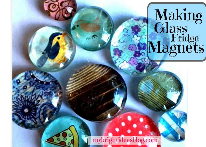 Make Glass Stone Gems Into Gorgeous Magnets My Bright Ideas