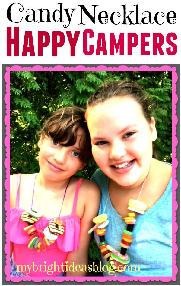 Make edible candy necklaces and bracelets! Jewelry made from candy! The perfect camping, road trip, kids party or grouchy kid solution! mybrightideasblog.com