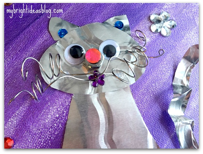 Easy Kids Crafts Make A Cat My Bright Ideas
